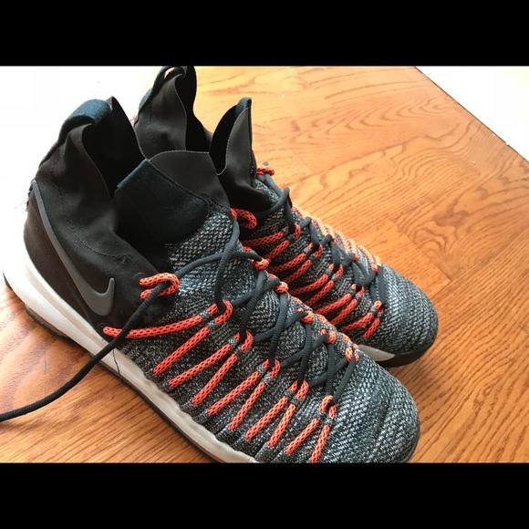 0f92ab997d7f Nike Zoom KD 9 Elite Black orange grey 876637 s 13.  M 5a9860423b1608b9f67f5778